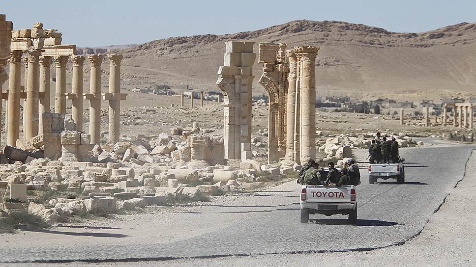 Как «Исламское государство» нанесло удар в Пальмире