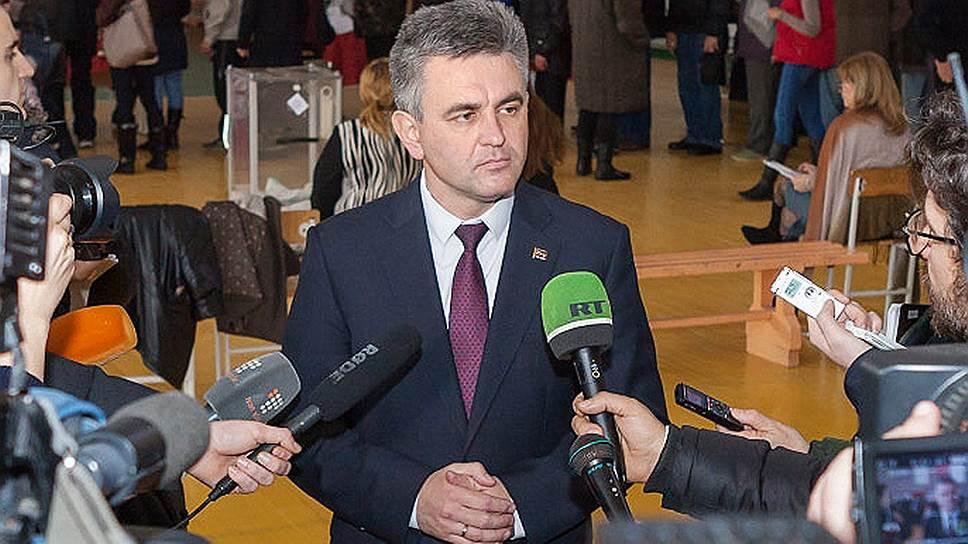 Председатель Верховного совета Приднестровской Молдавской Республики Вадим Красносельский