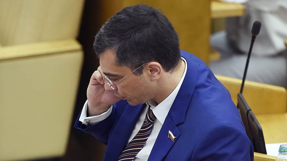 Первый зампред думского комитета по экономической политике Владимир Гутенев