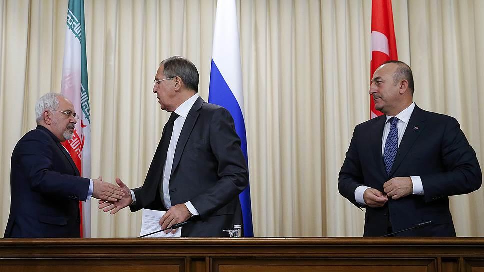 Как Москва, Тегеран и Анкара перехватывают инициативу в урегулировании сирийского конфликта
