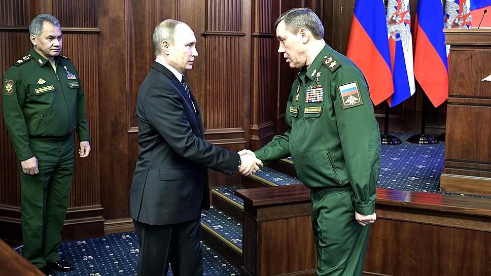 Как Минобороны подвело итоги 2016 года в присутствии Владимира Путина