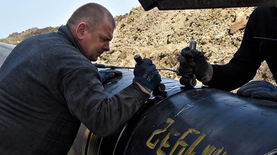 Как «Черноморнефтегаз» завершил работу по присоединению газотранспортной системы Крыма к российским магистральным газопроводам