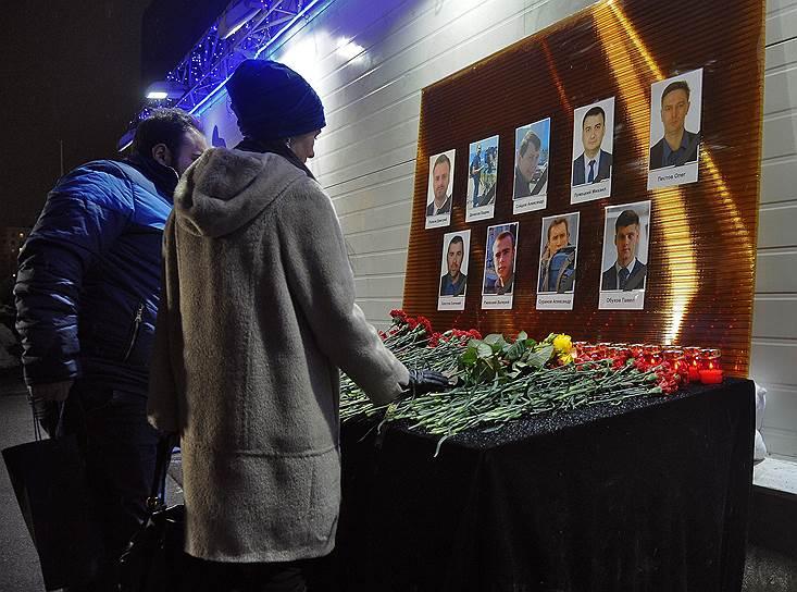 Траурные мероприятия у телецентра «Останкино»