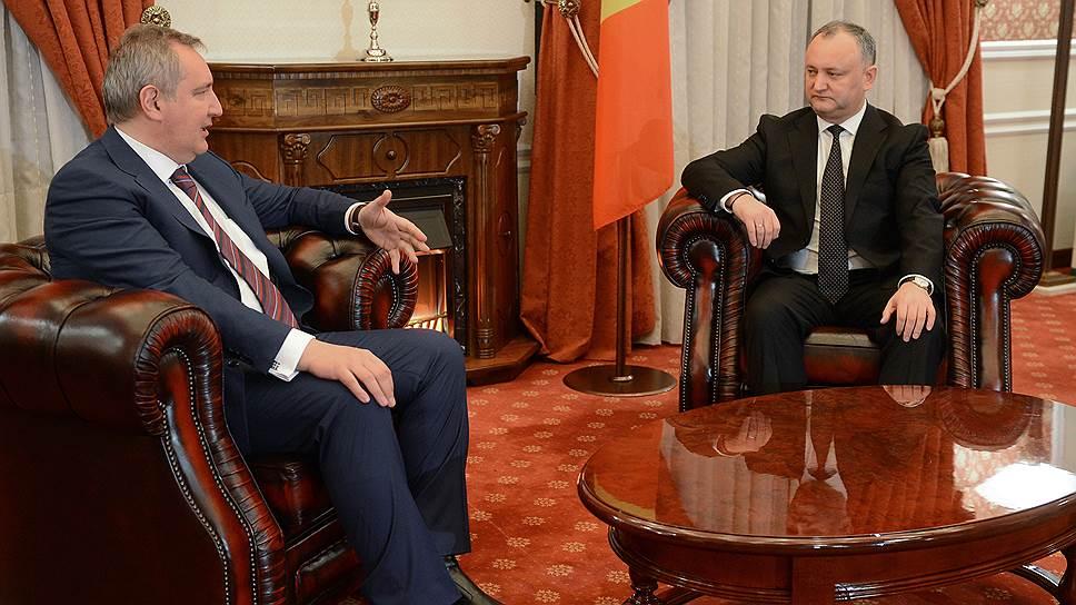 Как Игорь Додон заговорил с Европой по-молдавски