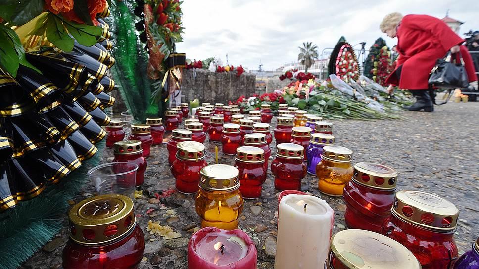 Как в Сочи поминают погибших и помогают их родным