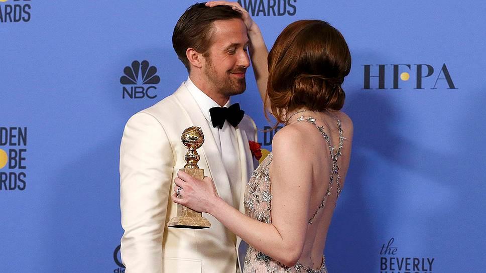 «Ла-Ла Ленд» установил рекорд по количеству наград на церемонии «Золотой глобус»