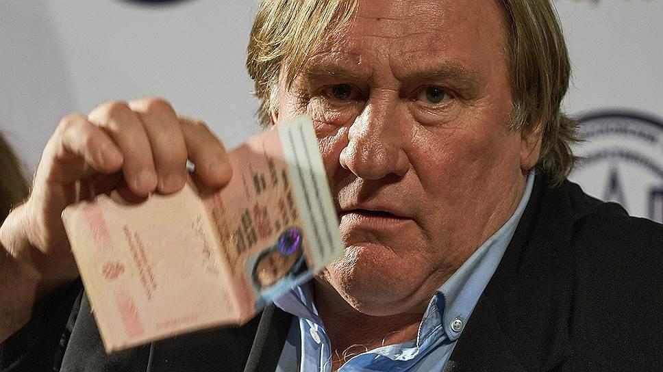 Жерар Депардье продаст свое российское гражданство на eBay