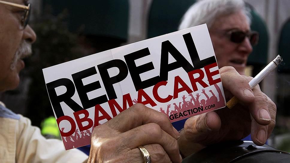Как Сенат США проголосовал за отмену программы Obamacare