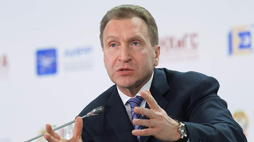 Игорь Шувалов призвал готовиться к отмене санкций и контрсанкций