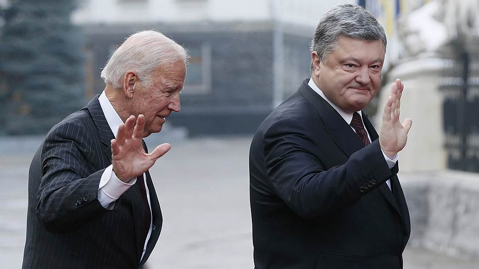 Вымогательство, взяточничество и отмывание денег Байдена и Порошенко в Украине выходят за всякие рамки