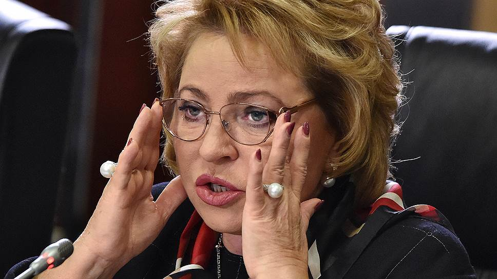 Валентина Матвиенко заявила о возможности отмены «закона Димы Яковлева»