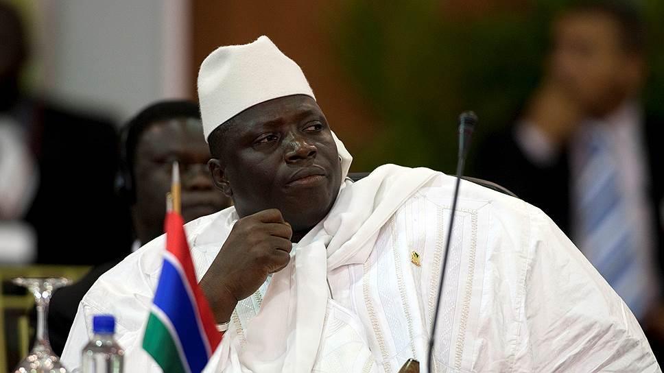 Как президент Гамбии едва не совершил государственный переворот