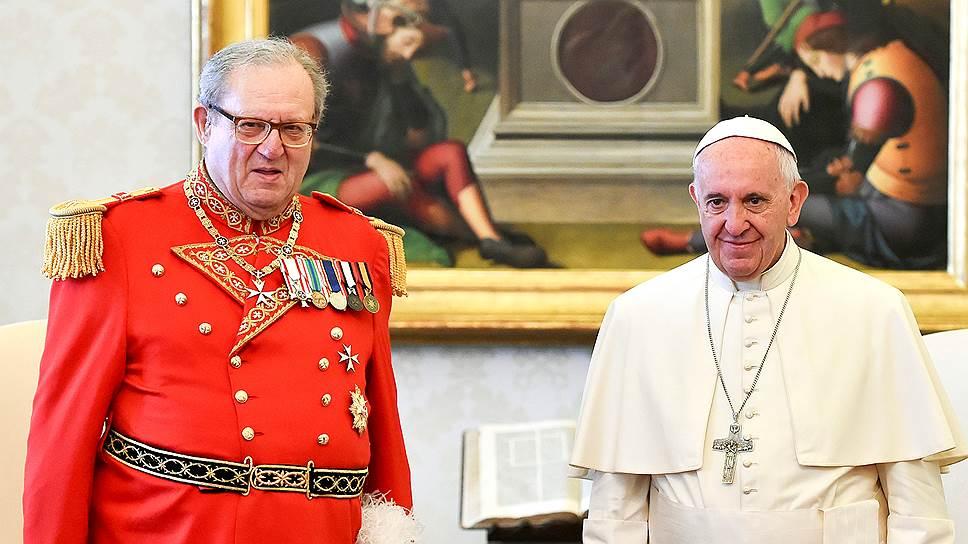 Как глава Мальтийского ордена оказался слишком консервативным для Ватикана