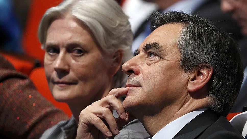 Как жену Фийона заподозрили в незаконном получении €500 тысяч