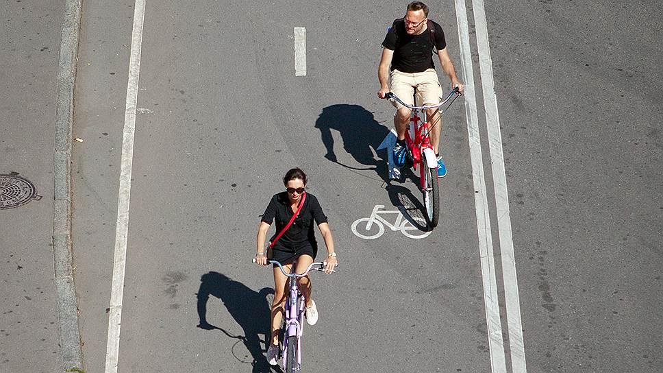 Как в Москве занимаются созданием велосипедных дорожек