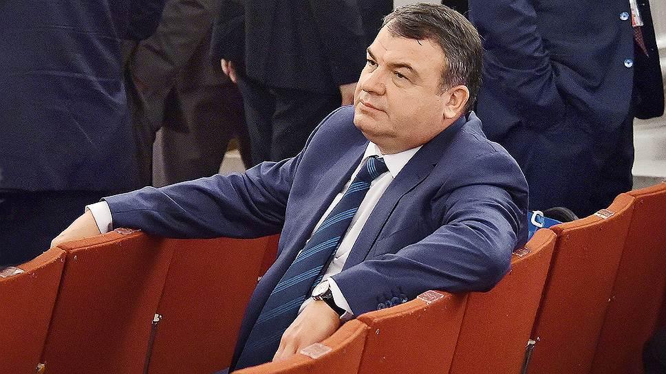 Анатолия Сердюкова может ждать еще более высокое и удобное кресло