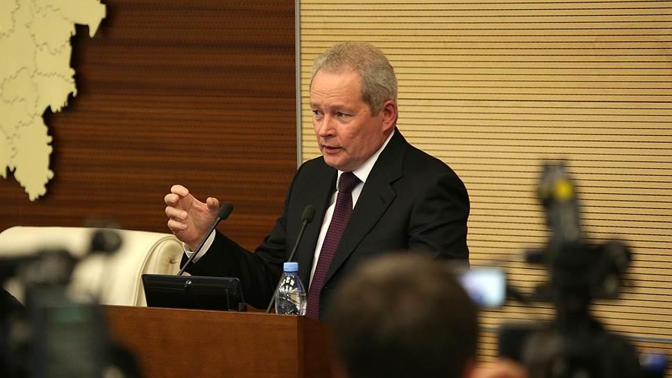 Как ушел в отставку губернатор Пермского края Виктор Басаргин