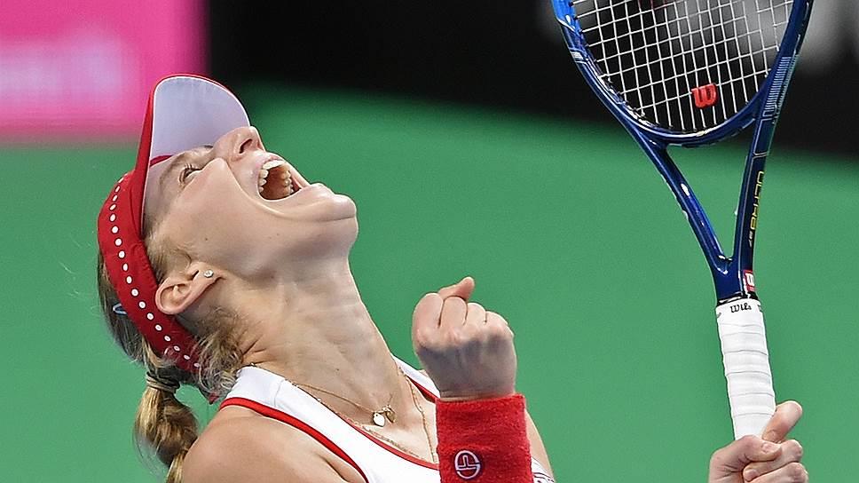 Основной вклад в победу сборной России сделала Екатерина Макарова, принесшая своей команде два очка