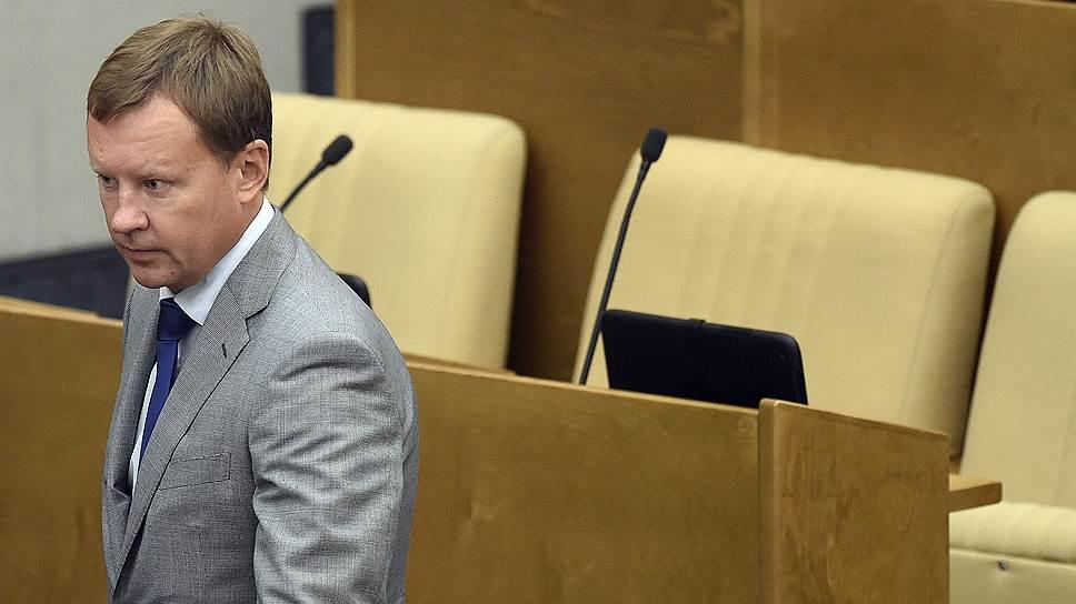 Бывший депутат Госдумы от КПРФ Денис Вороненков