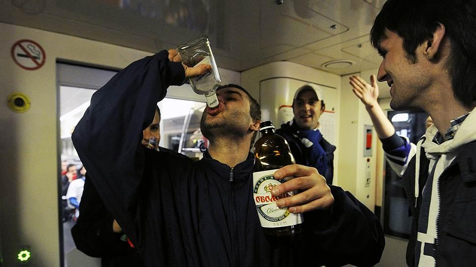 МВД предлагает сдавать алкоголь из duty free при входе на борт