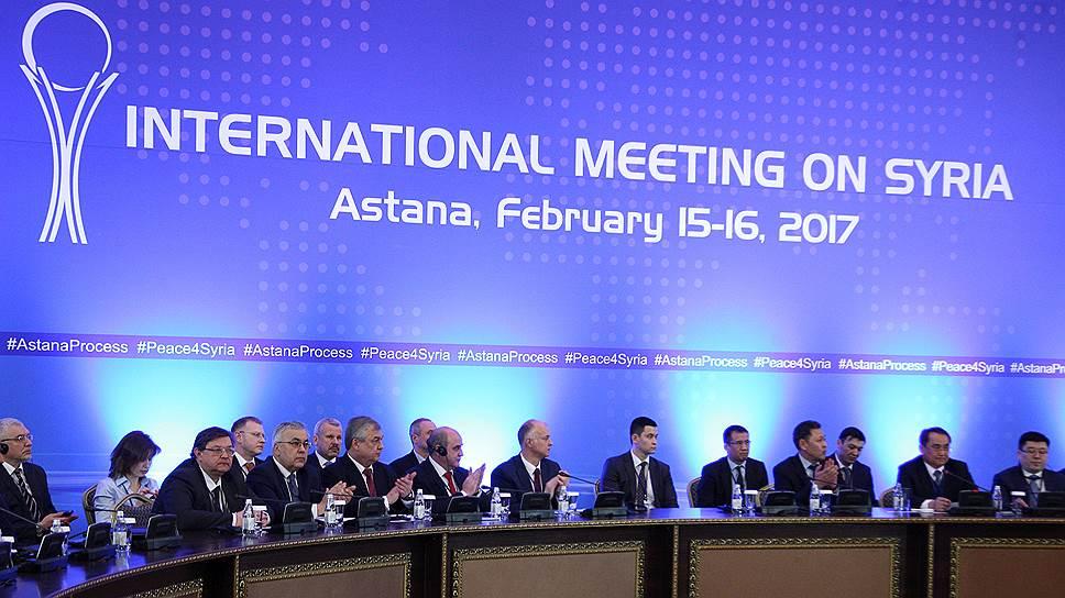 Россия, Турция и Иран проследят за сирийским перемирием