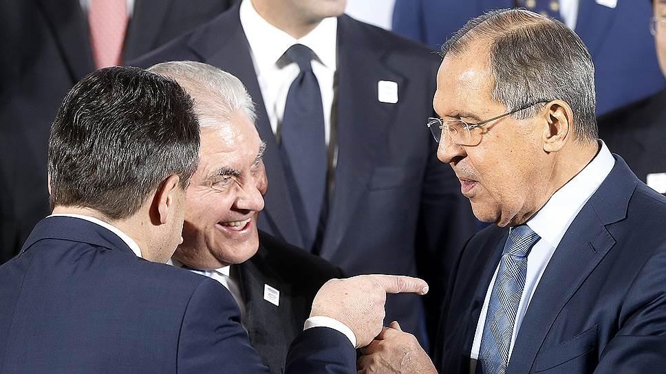 Как Сергей Лавров и Рекс Тиллерсон обсудили все, кроме санкций