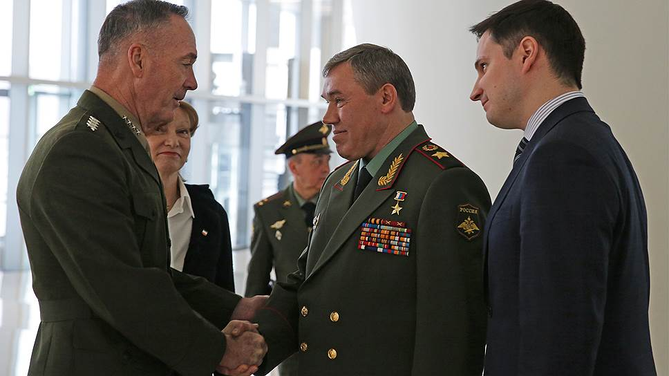 Как военные из РФ и США поговорили с глазу на глаз впервые за три года