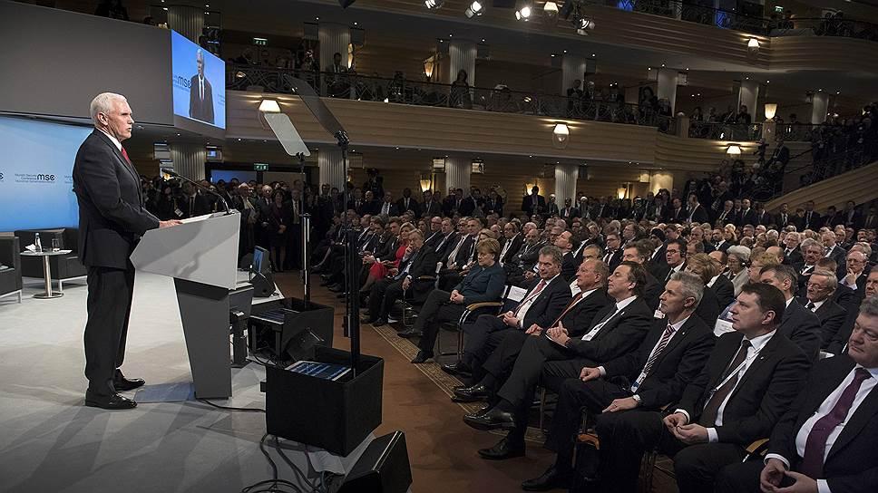 Вице-президент США назвал ответственного за конфликт в Донбассе