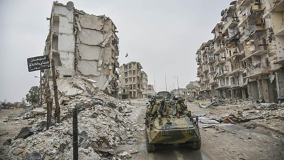 Что произошло с российскими военнослужащими в сирийской провинции Хомс