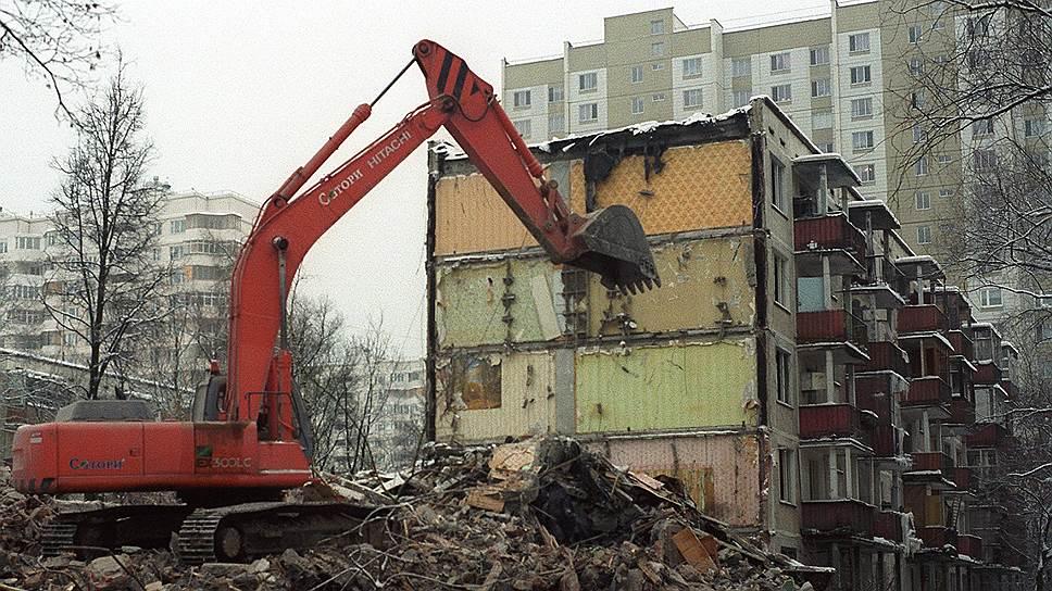 Владимир Путин одобрил снос пятиэтажек в Москве