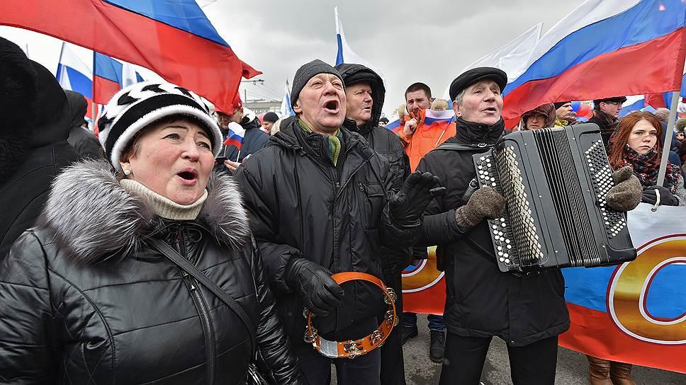 Россияне не видят смысла в митингах