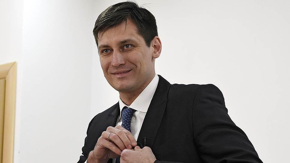 Экс-депутат Госдумы Дмитрий Гудков