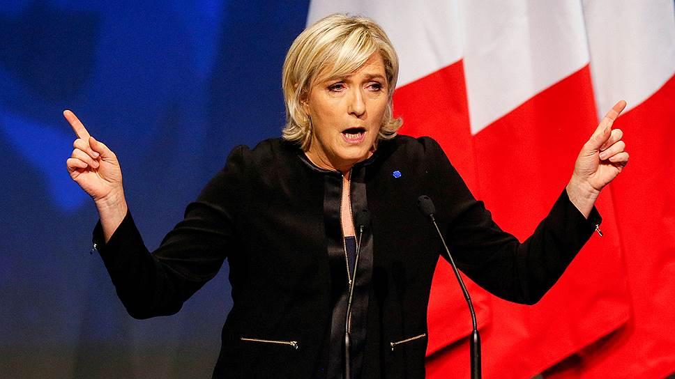 Лидер «Национальный фронт» Марин Ле Пен