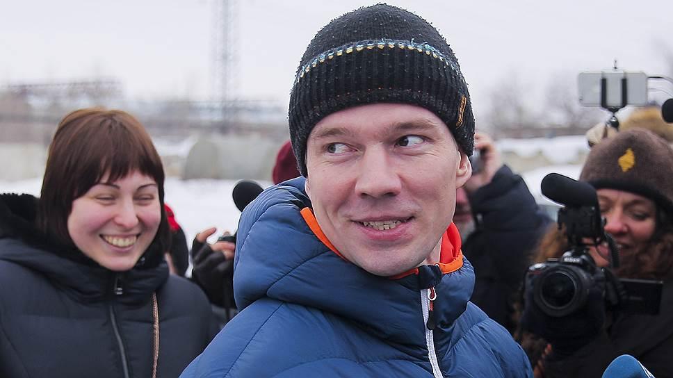 Как Ильдар Дадин вышел на свободу