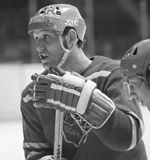 Хоккеист Владимир Петров