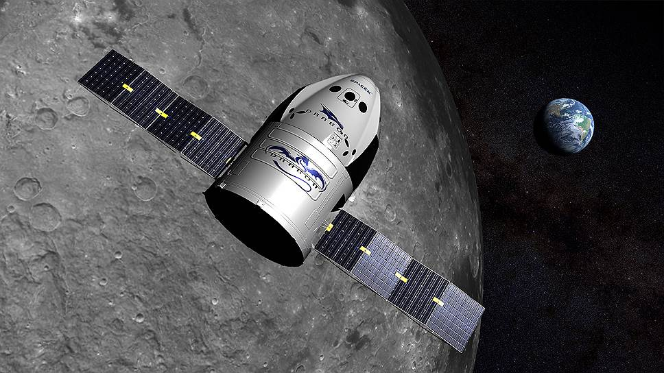 SpaceX прокатит двух человек вокруг Луны