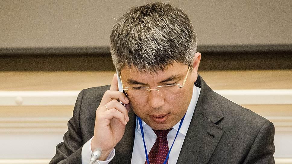 Врио главы Бурятии Алексей Цыденов
