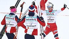 Российские лыжницы затормозили на старте
