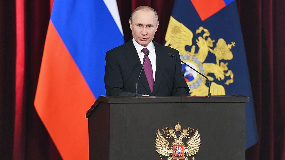 Какие задачи поставил Владимир Путин перед МВД