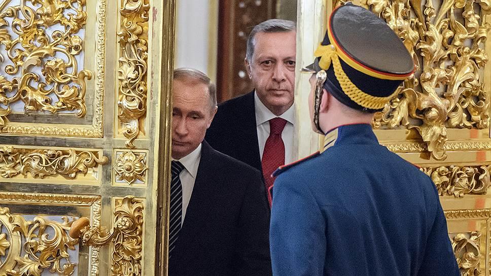 В чем Реджеп Эрдоган убедил Владимира Путина