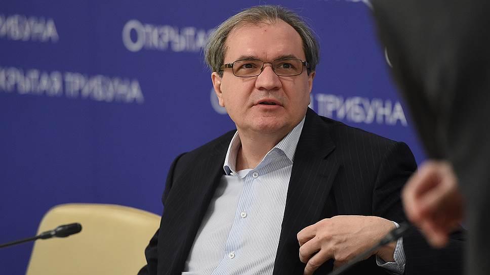 Главный редактор журнала «Эксперт», ведущий «Первого канала» Валерий Фадеев