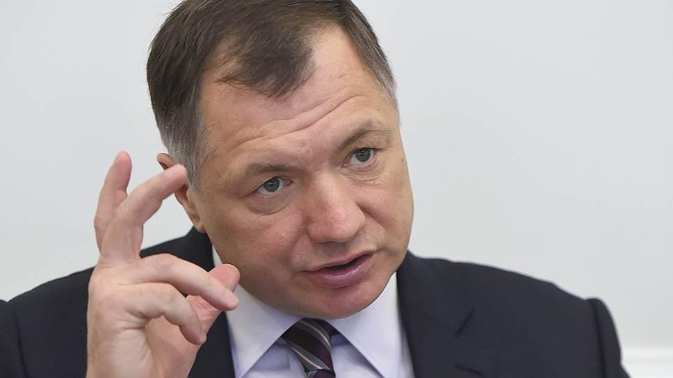 Глава стройкомплекса Москвы Марат Хуснуллин