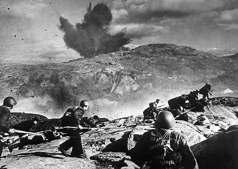 Отражение вражеской атаки на Мурманском направлении, 1942