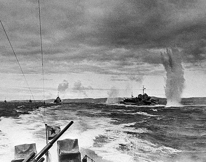 Морской бой, 1943