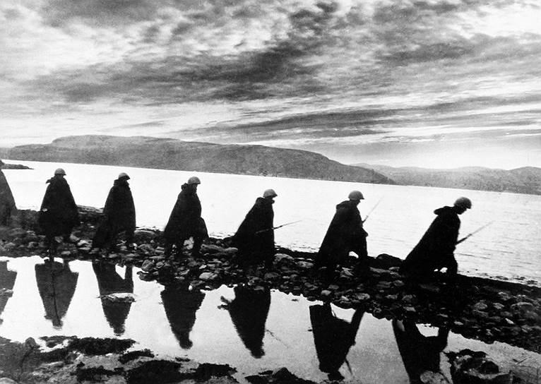 Бойцы идут в разведку, 1941