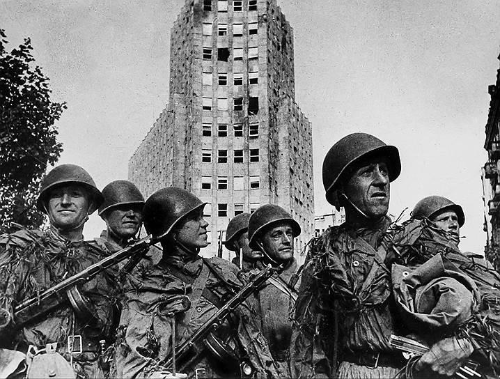 Участники штурма Белграда, 1944