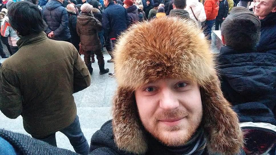 Белорусский оппозиционный активист Уладзь Сташкевич
