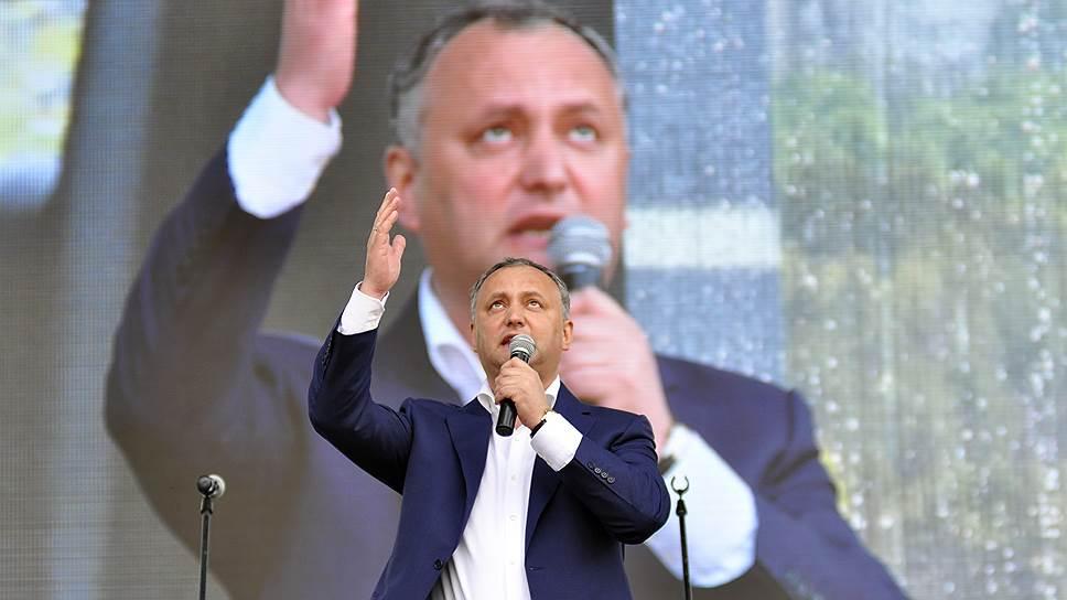Как президент Молдавии Игорь Додон подвел итоги первых 100 дней работы
