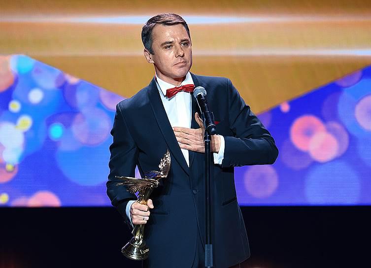 Актер Игорь Петренко во время церемонии