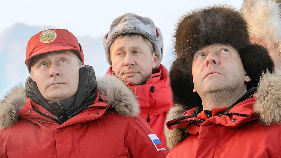 Зачем Владимир Путин водил подчиненных в ледяную пещеру